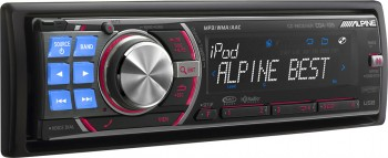 alpine adds 2 new cd head units for 2009 car audio geek. Black Bedroom Furniture Sets. Home Design Ideas