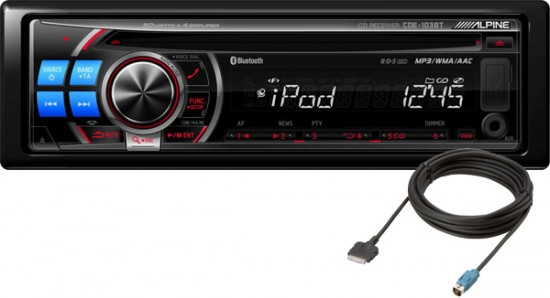 Alpine Announces 2 New Products With Bluetooth Support - Car Audio Geek
