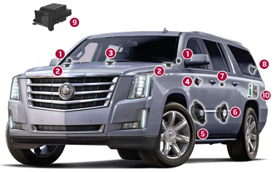 Bose Centerpoint Surround Sound System for the 2015 Escalade