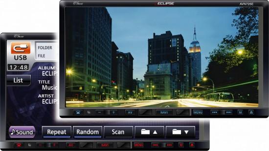 Eclipse Car Audio News  Avn726ee  Avn726e  Avn4430 And