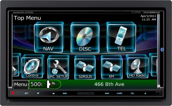 Kenwood DNX9980HD